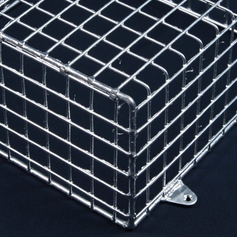 Aiano FLS/M medium galvanised bulkhead guard – detailed view