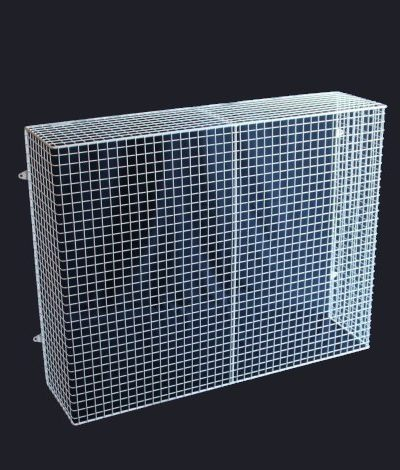 QM100-AIA heater guard – wall mounted