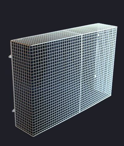 QM150-AIA heater guard – wall mounted