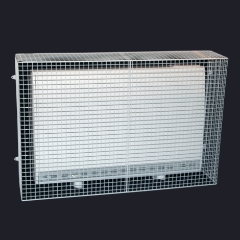 QM150-AIA heater guard – guard on heater