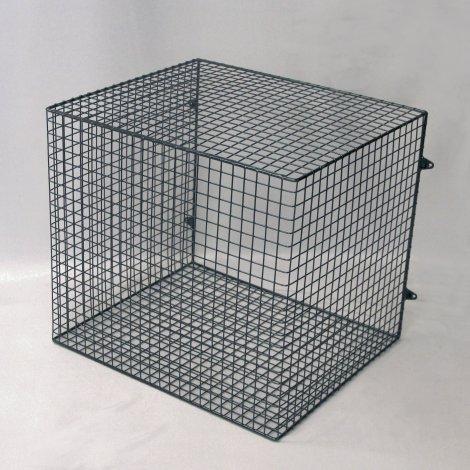 QXD3000-AIA-BLK quartz heater guard – front view