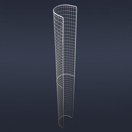 Aiano STG41 double tubular guard – back view