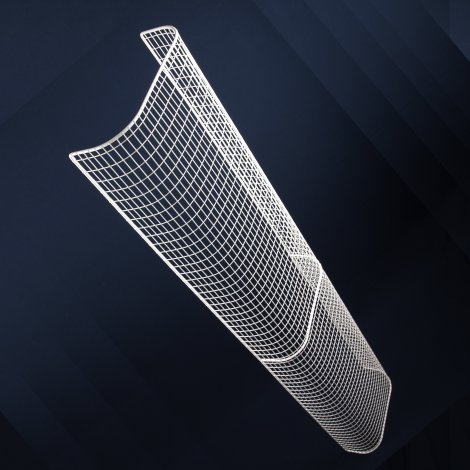 Aiano THG53 treble tubular guard wall mounted