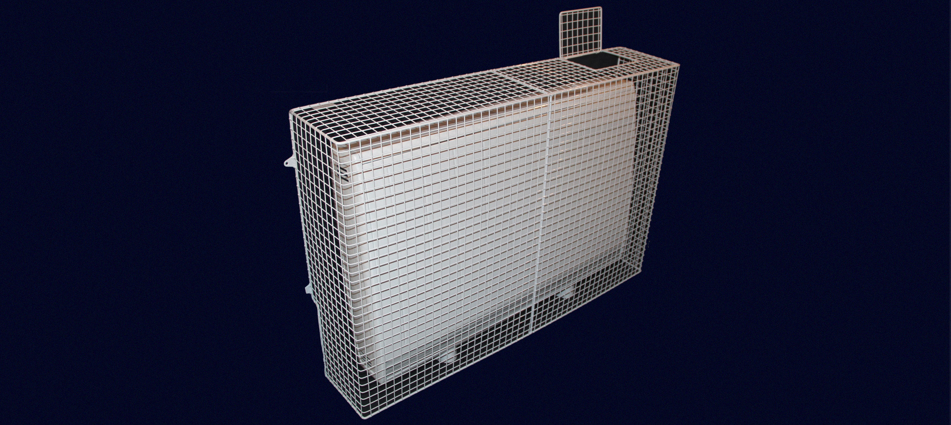 What are electric radiators? This is one, in an AIANO wire mesh guard