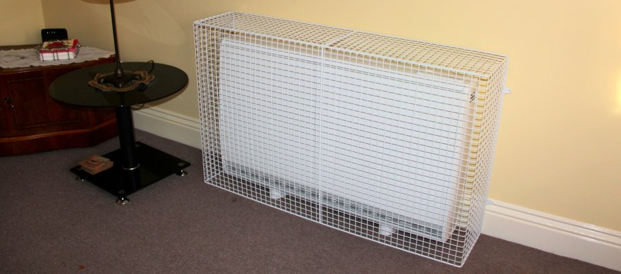 A world of wire mesh radiator guards