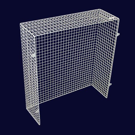 QM050-AIA heater guard – back view