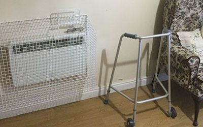 Safety around heaters – some considerations for care homes