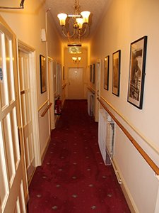 AIANO heater guards allow unimpeded passage along the corridor