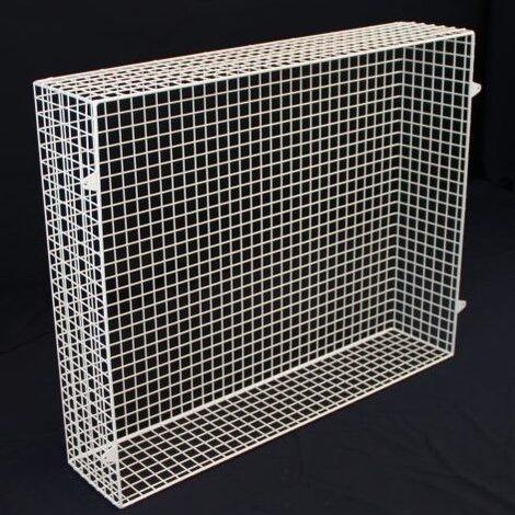 QRAD100-AIA heater guard back view