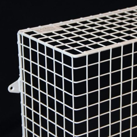 QRAD100-AIA heater guard detailed view