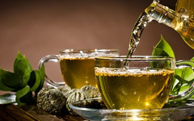 Green tea's rich brew of antioxidants and other nutrients